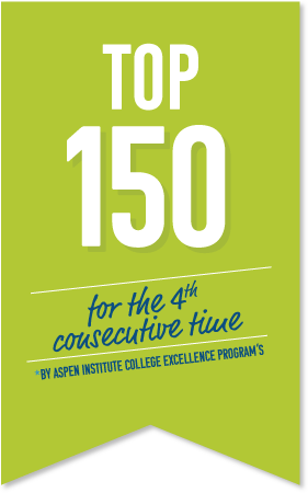 Top 150 Colleges, fourth consecutive time