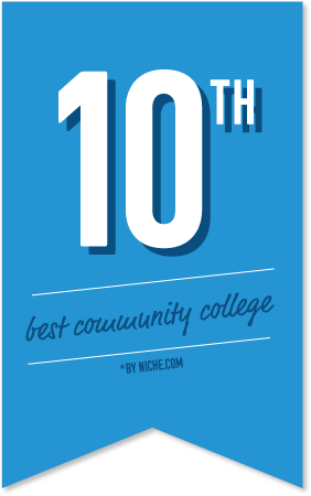 Tenth best community college