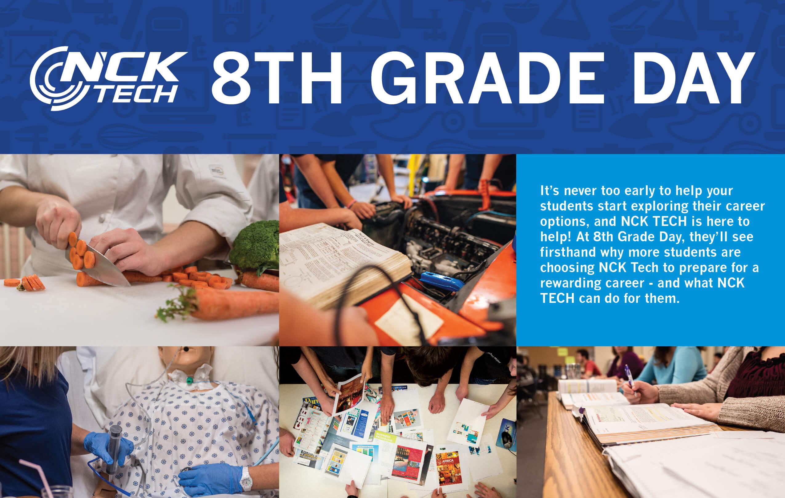 Eighth grade day at NCK Tech.